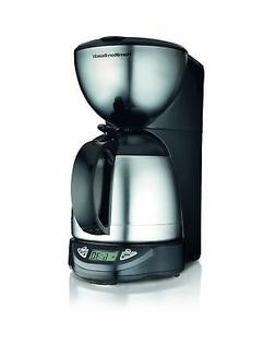 Hamilton Beach 10-Cup Coffee Maker, Programmable with Therma