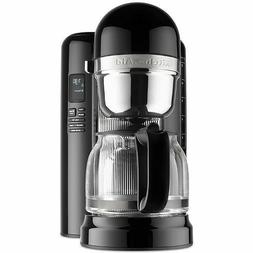 KitchenAid 12-Cup Coffee Maker w/One Touch Brewing ~ Onyx Bl