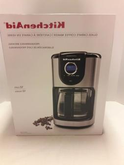 KitchenAid 12-Cup Glass Carafe Coffee Maker. New in box.