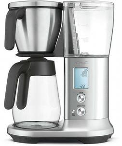 Breville 12-Cup Stainless Steel Precision Brewer Glass Coffe