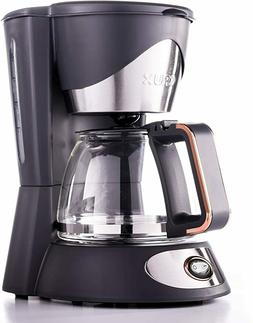 Crux 14634-SN 5 Cup Sustainable Manual Coffee Maker Pot with