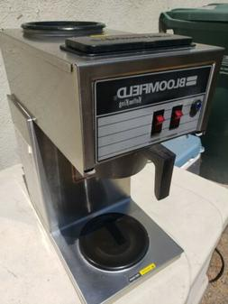 BLOOMFIELD 2 Burner Commercial Coffee Maker Brewer Cafe Exce