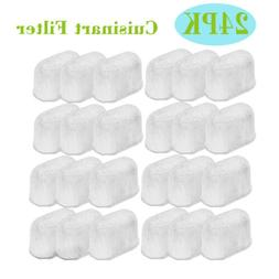 24PCS For Cuisinart Coffee Filter DCC-3200 Coffee Maker Char