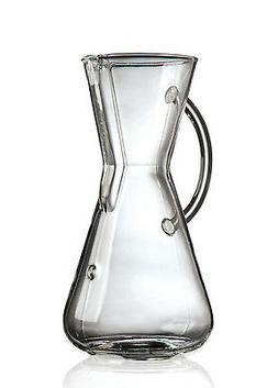 Chemex  3 Cup Glass Handle Pour-Over Coffee Maker - Authoriz