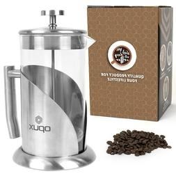 32oz Double Wall Stainless Steel French Press Coffee Maker T