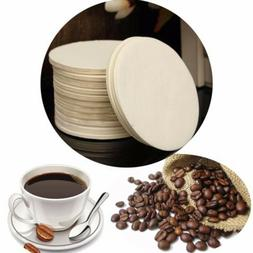 350x White Wood Pulp Coffee Replacement Paper Filter for Cof