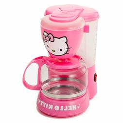 36209 Pink Hello Kitty 550W 5-Cup Coffee Maker with Auto Dri