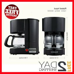 4 Cup Coffee Makers, Single Serve Coffee Pot, One-Button Sma