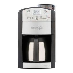 Capresso 465 CoffeeTeam TS 10-Cup Digital Coffeemaker with C
