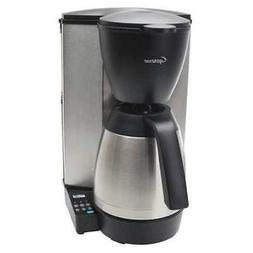 CAPRESSO 485.05 Single Coffee Maker, 10 Cup, Plastic/Stainle