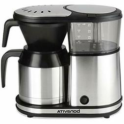 5-Cup One-Touch Coffee Maker Featuring Thermal Carafe, BV150