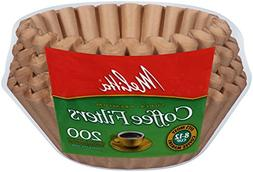 Melitta 8 To 12 Cup Natural Brown Basket Coffee Filters, 200