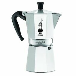 The Original Bialetti Moka Express Made in Italy 9-Cup Stove
