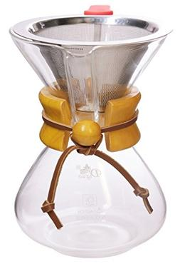 Classic Series Glass Coffee Maker Set by Diguo. Drip / Pour