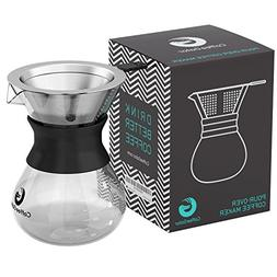 Coffee Gator Pour Over Brewer – Unlock Flavor with Paperle