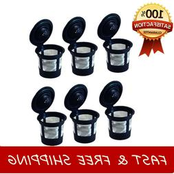 Reusable Single K-Cup Coffee Filter Pods fit Keurig Coffee M