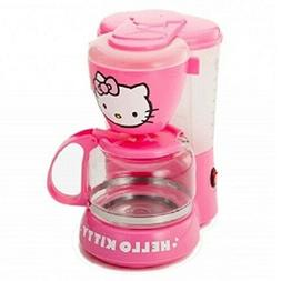 Hello Kitty APP-36209 Pink Coffee Maker 5-Cup Capacity