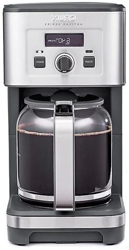 CRUX Artisan Series 14-Cup Programmable Coffee Maker in Stai