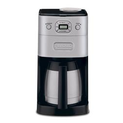 Black and Stainless Steel Exterior 10-cup Programmable Coffe