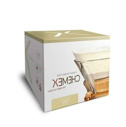 Chemex Bonded Coffee Filter, Circle, 100ct - Exclusive Packa