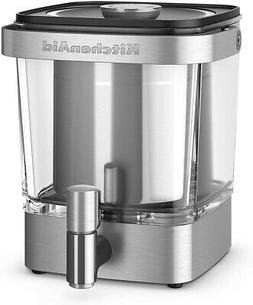 KitchenAid Brushed Stainless 38oz Cold Brew Coffee Maker