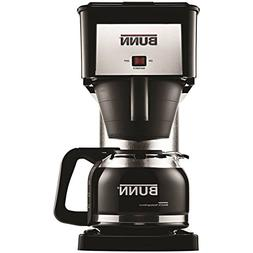 NEW BX-B BUNN 10 CUP COFFEE MAKER BREWER BLACK STAINLESS NEW