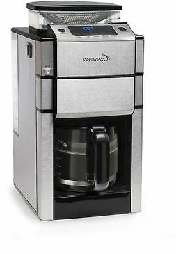 Capresso Coffee TEAM PRO Plus 12-Cup Coffee Maker with Grind
