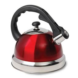 Mr. Coffee 108074.01 Claredale Stainless Steel Whistling Tea