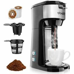 Coffee Maker Brewer for K-Cup Pod & Ground Coffee Self-Clean
