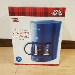 Kalita coffee maker Cafe Koror 4 cups V-102 Blue #41119 NEW
