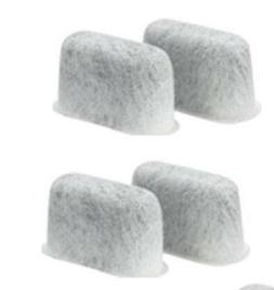 4 REPLACEMENT WATER FILTERS CHARCOAL FOR CUISINART Coffee Ma