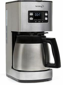 Coffee Maker Machine 10 Cups Thermal Carafe Compact Brewer S