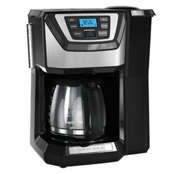 Coffee Maker Machine 12-Cup Programmable with Coffee Bean Gr
