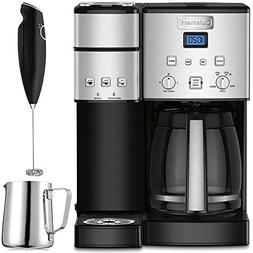 Cuisinart 12-Cup Coffee Maker and Single-Serve Brewer Stainl