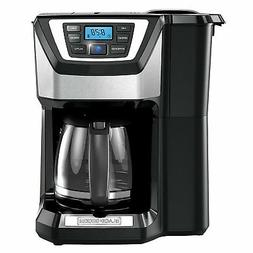 Coffee Maker With Grinder Automatic Whole Bean 12 Cup Machin