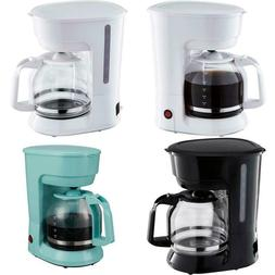 Coffee Maker with Removable Filter Basket 12 Cup Brew Pot Di