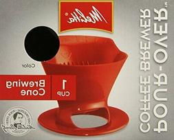 Melitta Coffee Makers Pour-Over Coffee Brewer Cone With Cera