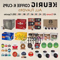 Coffee Pods K Cups Capsules 40 50 72 80 200 count Packs lot