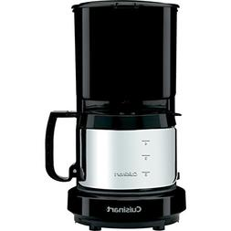 Conair Cuisinart WCM08B 4-Cup Coffeemaker Black with Stainle