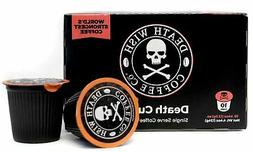 Death Wish Coffee Single Serve Capsules for Keurig K-Cup Bre