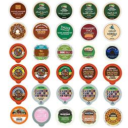 Decaf Coffee Variety Sampler Pack for Keurig K-Cup Brewers,