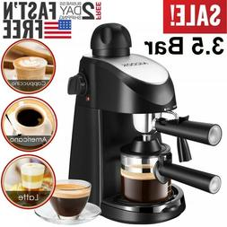 Espresso Machine Coffee Maker Cappuccino Milk Frother with S