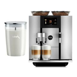 Jura GIGA 6 Automatic Coffee Maker  and Glass Milk Container