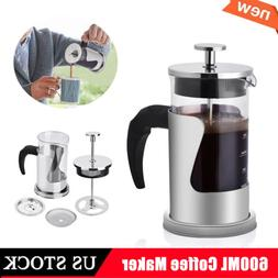 insulated french press coffee maker stainless steel