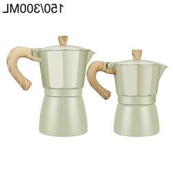 Kitchen Coffee Maker Espresso Percolator Stove Aluminum 1 pc