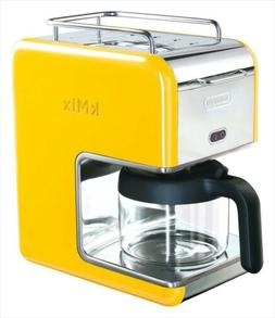 DeLonghi kMix cable mix boutique drip coffee maker yellow  N
