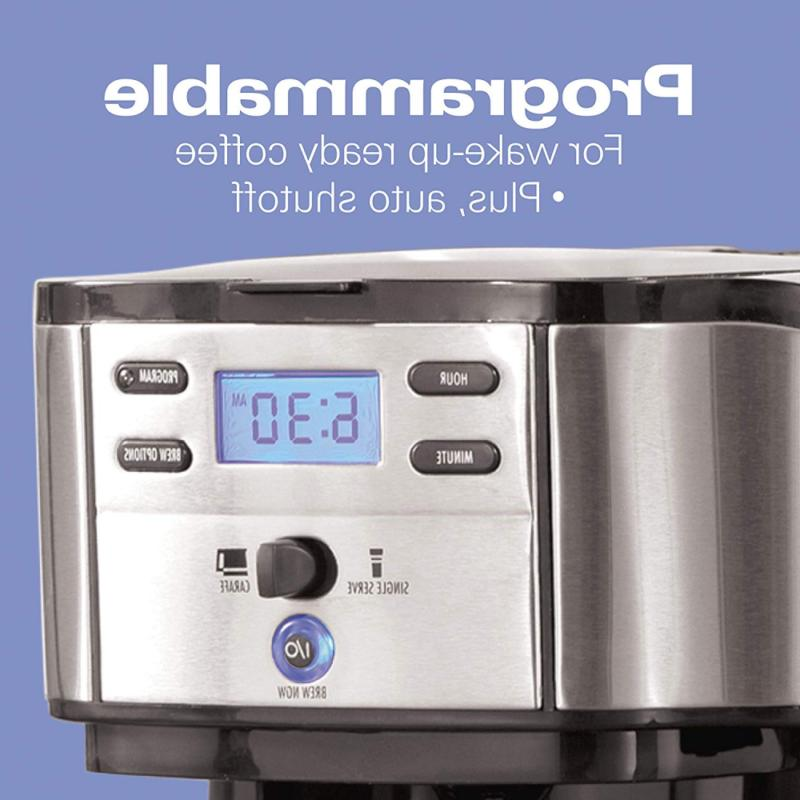 2-Way Brewer Single-Serve Stainless