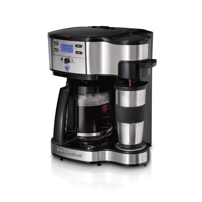 2 way brewer coffee maker single serve