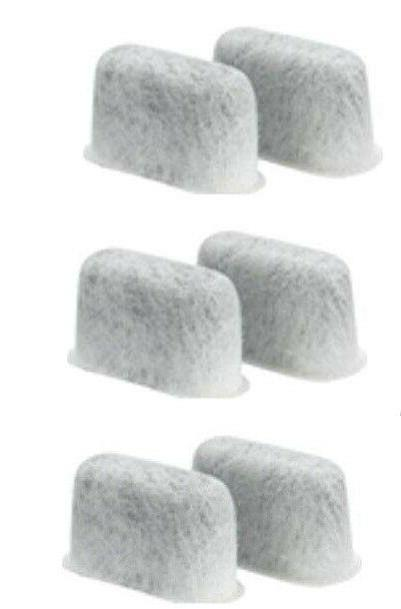 6 Filters For CUISINART Coffee Maker DCC-RWF Water CHARCOAL