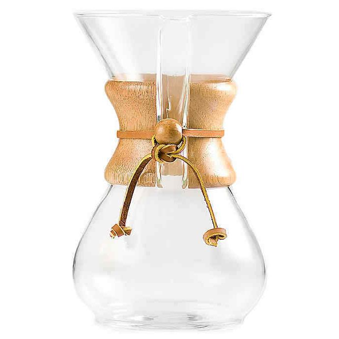 Chemex® 6-Cup Pour Over Coffee Maker - New item